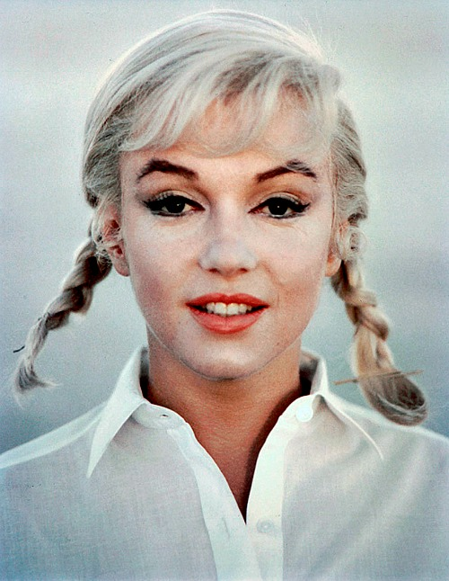 Marilyn in her final completed film role; The Misfits. Photographed by Eve Arnold in 1960.
