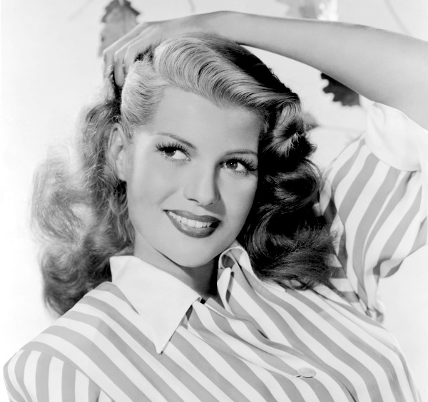 Rita Hayworth in the 1940s.