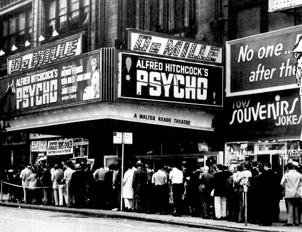 Alfred Hitchock's Psycho was something audience's had never seen before and the Box Office Receipts show it.