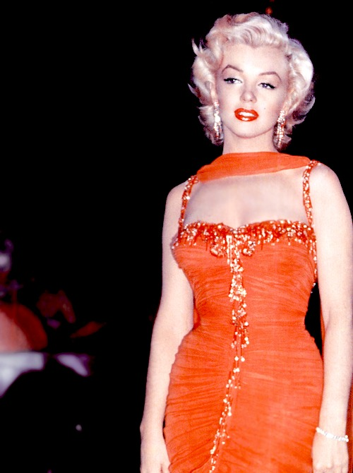 1953 was Marilyn's year, she had three blockbuster films released, among them being Gentlemen Prefer Blondes.