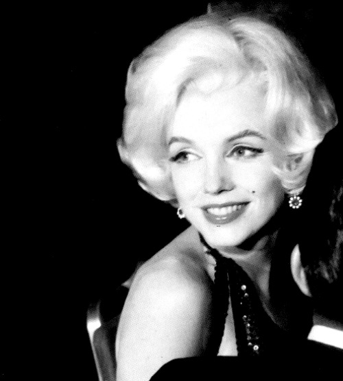 "Marilyn at the Golden Globe Awards were she received, ""World Female Favourite"" award in March 1962."