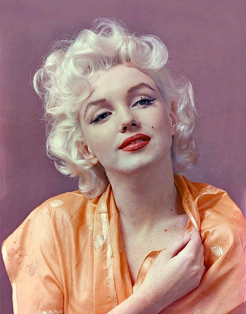 Marilyn by Hal Berg in 1955.