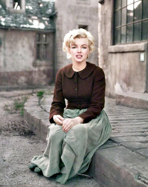 Marilyn by Milton Greene in 1954.