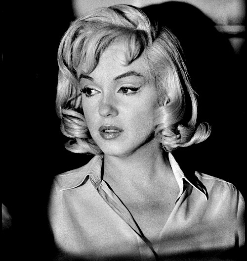 Marilyn by Erich Hartmann filming The Misfits in 1960.